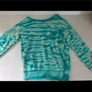 Pink VS scoop neck sweater
